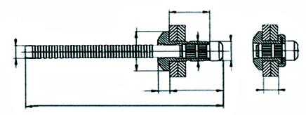 Cabeça Abaulada Desenho Técnico