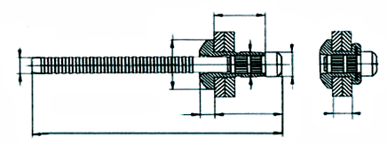 Desenho Técnico Cabeça Abaulada