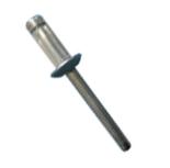 Rebite Estrutural Orlock de Aço Cabeça Abaulada