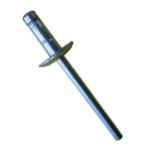 Rebite Estrutural Orlock de Aço Cabeça Larga