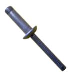 Rebite Estrutural Orlock de Alumínio Cabeça Abaulada