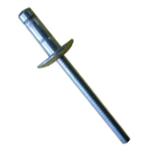 Rebite Estrutural Orlock de Alumínio Cabeça Larga